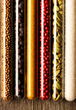 Spices in beakers close-up Royalty Free Stock Photography