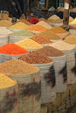 Spices and beans market Stock Photo
