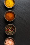 Spices in bowl Royalty Free Stock Photos