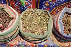 Spices in cairo souk egypt Stock Photos