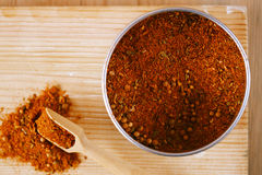 Spices Chicken BBQ Rub mix of Herbs Royalty Free Stock Photo