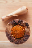Spices Chicken BBQ Rub mix of Herbs Royalty Free Stock Images