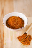 Spices Chicken BBQ Rub mix of Herbs, shallow dof Stock Photography
