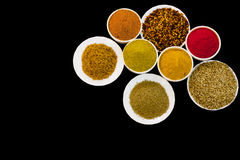 Spices and Chillies Stock Photography
