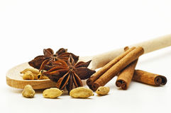 Spices for christmas cookies Stock Photo