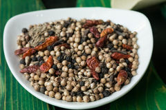 Various spices closeup Stock Photography