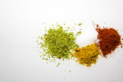 Spices colorful Stock Photos