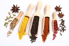 Spices. Stock Photo