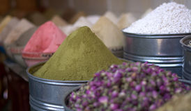 The spices, colors and fragrances of the Orient Royalty Free Stock Images