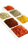 Spices in container Royalty Free Stock Photos