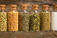 Spices container Royalty Free Stock Image