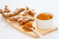 Spices Curry Turmeric Royalty Free Stock Images