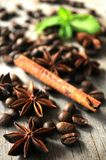 Spices for food culinary art elaboration Stock Photos