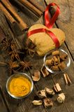 Spices For Bake Gingerbread Stock Photography