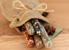 Spices in a glass 9 Royalty Free Stock Photography