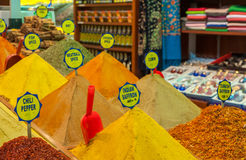 Spices at Grand Bazaar, Istanbul Stock Photos