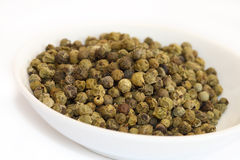 Spices - green pepper Stock Image