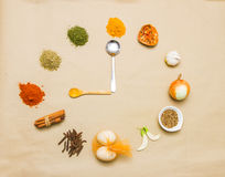 Spices for health. Royalty Free Stock Photo