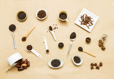 Spices for health. Royalty Free Stock Photos