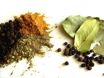 Spices and herb Royalty Free Stock Images