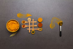 Spices for herb. Royalty Free Stock Photos