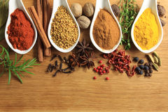 Spices and herbs Stock Photography
