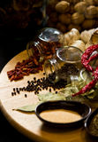 Spices and herbs Stock Image