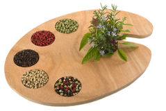 Spices and Herbs Stock Photo