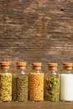 Spices, herbs and seeds Royalty Free Stock Photo