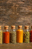 Spices, herbs and seeds Stock Photo