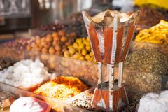 Spices and herbs souk in Dubai Royalty Free Stock Image
