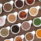 Spices and Herbs Royalty Free Stock Image