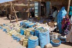Spices and herbs vendor Stock Photos