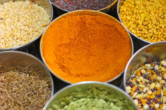 Spices of India royalty free stock images