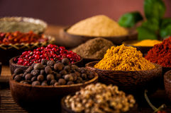 Spices of Indonesia royalty free stock photo