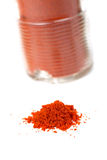 Spices jar Royalty Free Stock Photography