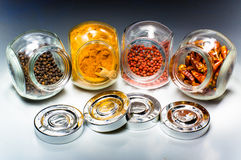Spices in jar Royalty Free Stock Photo