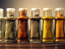 Spices in jars 2 Stock Photo
