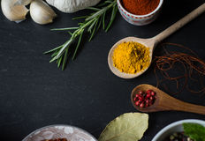Spices in the kitchen Stock Image