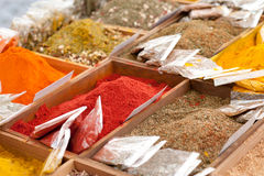Spices at a market Royalty Free Stock Photo