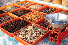 Spices at market Stock Photography