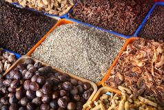 Spices at market Royalty Free Stock Photo