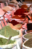 Spices on a market Royalty Free Stock Images