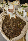 Spices on the market Royalty Free Stock Photo