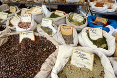 Spices on the market Stock Images