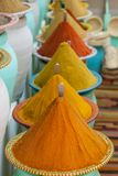 Spices at the market Marrakech, Morocco Royalty Free Stock Photo