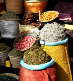 Spices in the market in Marrakesh, Morocco Royalty Free Stock Image