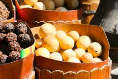 Spices market of Nubia Egypt. Egypt, Aswan old market of Nubia Egypt Aswan 20 September 2017 Stock Images
