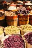 Spices market of Nubia Egypt. Egypt, Aswan old market of Nubia Egypt Aswan 20 September 2017 Royalty Free Stock Photo