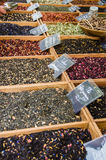 Spices market in Provence, France Royalty Free Stock Photo